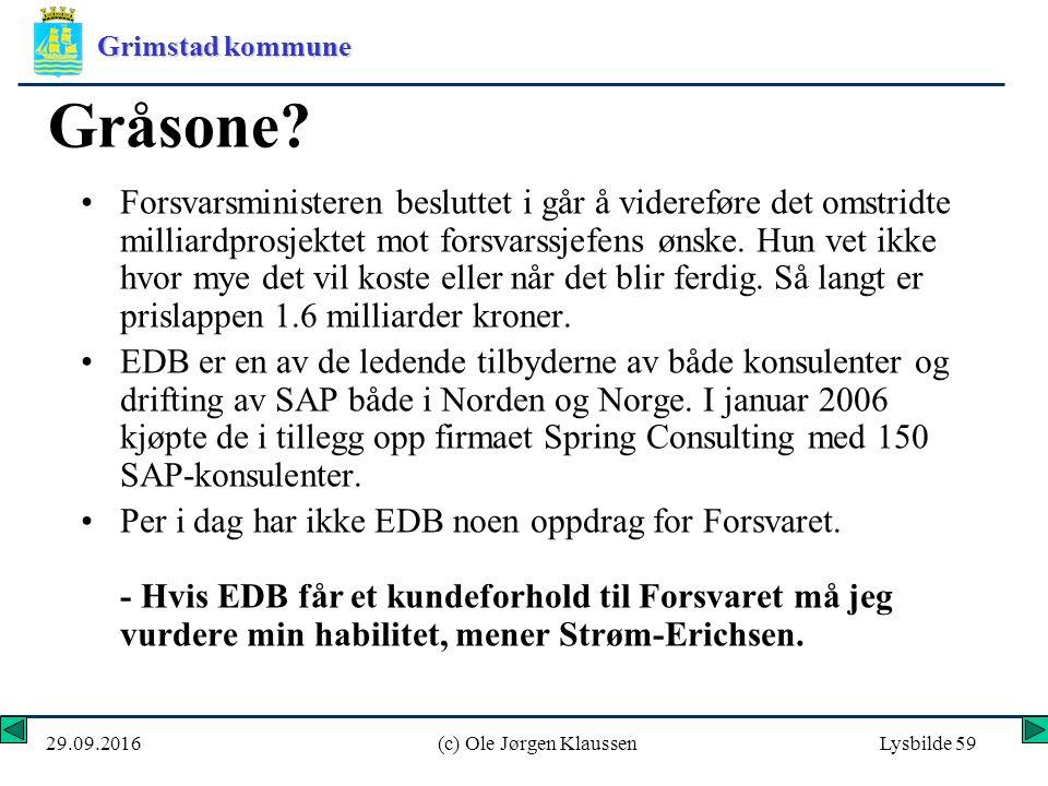 Grimstad kommune 29.09.2016(c) Ole Jørgen KlaussenLysbilde 59 Gråsone.