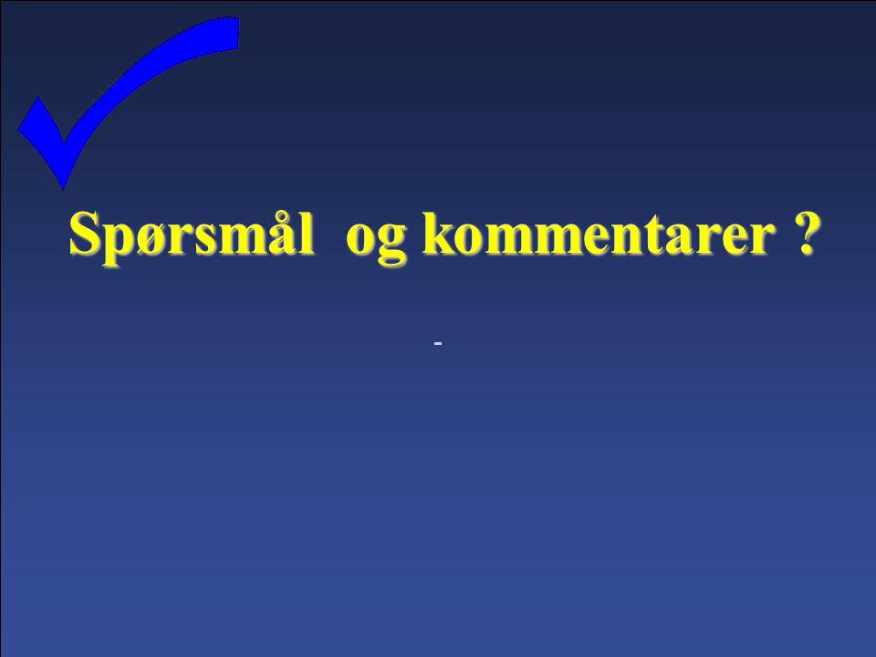 © Ole Jørgen Klaussen OJK 29.09.2016Lysbilde 40 Spørsmål og kommentarer
