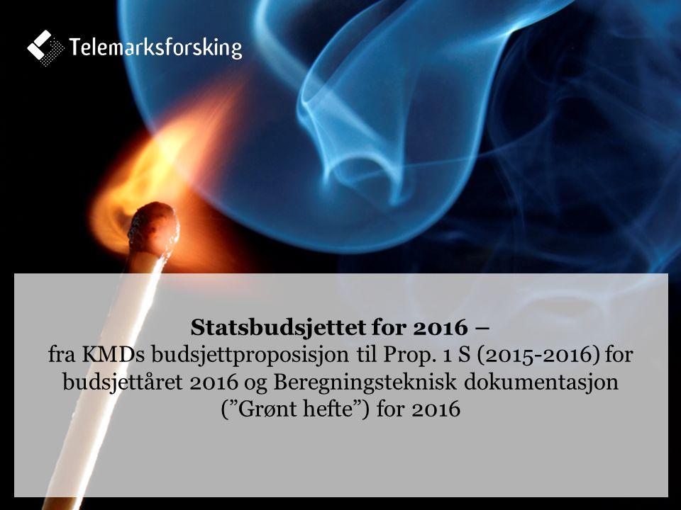Kommuneopplegget over statsbudsjettet – prinsipper og forståelse Frie inntekter – nivå og vekstanslag 11