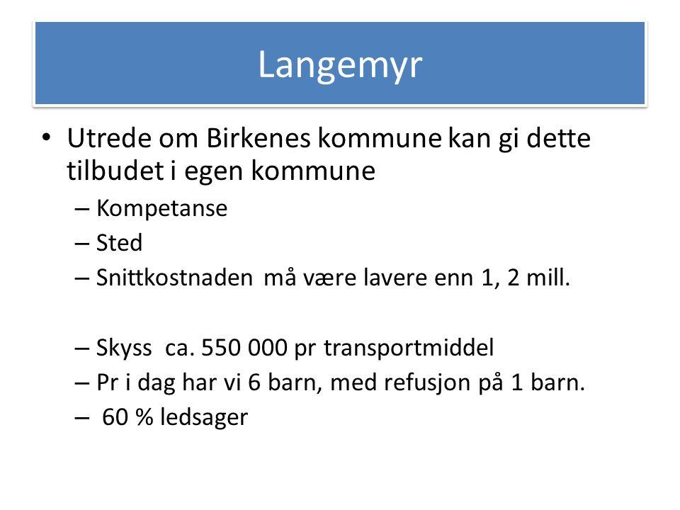 Endre skolestruktur Er det plass til alle elever på Birkeland og Valstrand, romkapasitet og deling av klasser.