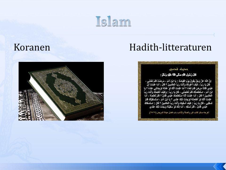Koranen Hadith-litteraturen