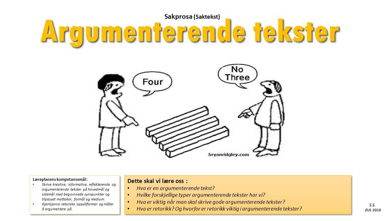Læreplanens kompetansemål : Skrive kreative, informative, reflekterende og argumenterende tekster på hovedmål og sidemål med begrunnede synspunkter og tilpasset mottaker, formål og medium.