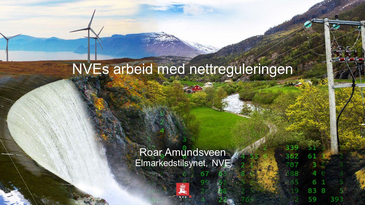 NVEs arbeid med nettreguleringen Roar Amundsveen Elmarkedstilsynet, NVE