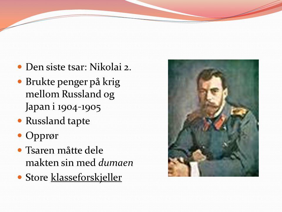Den siste tsar: Nikolai 2.