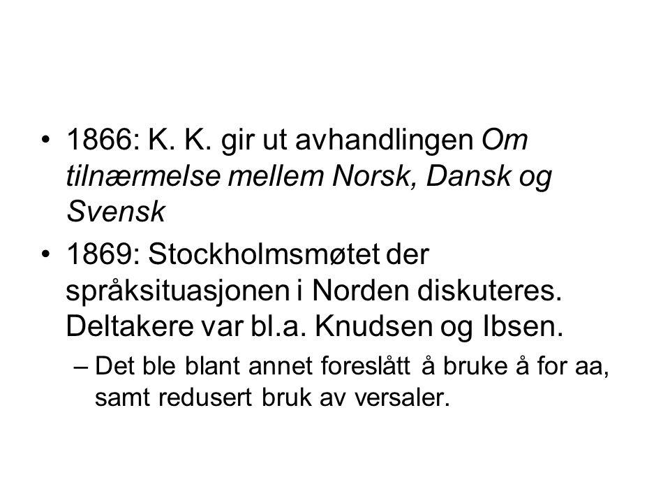 1866: K. K.