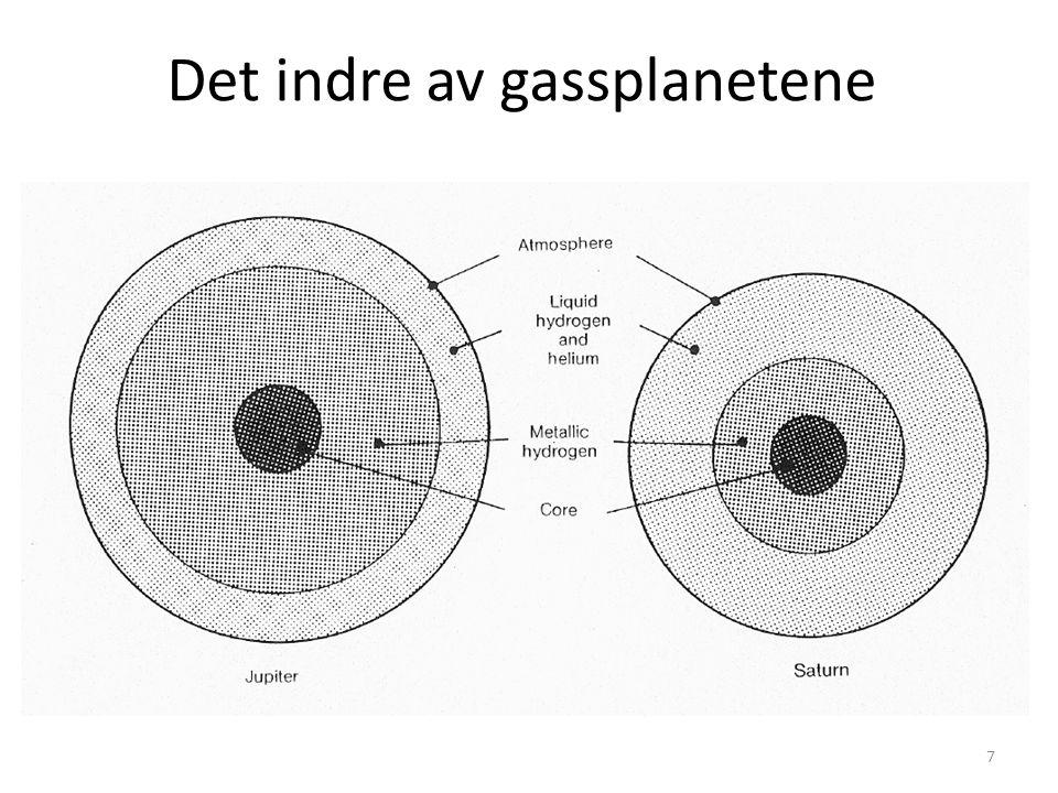 7 Det indre av gassplanetene