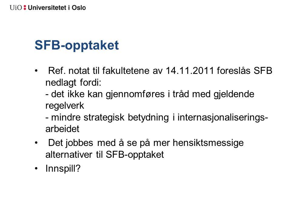 Status: IHR-områdene for H2011 Høringsrunde Hva skal vi spørre om.