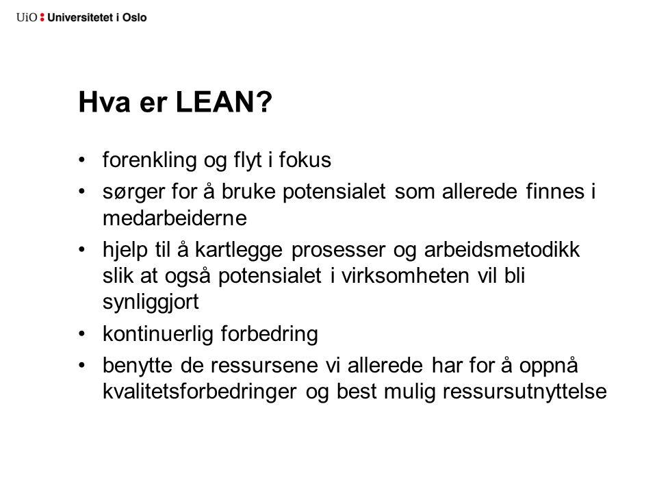 Hva er LEAN? forenkling og flyt i fokus sørger for å bruke potensialet som allerede finnes i medarbeiderne hjelp til å kartlegge prosesser og arbeidsm