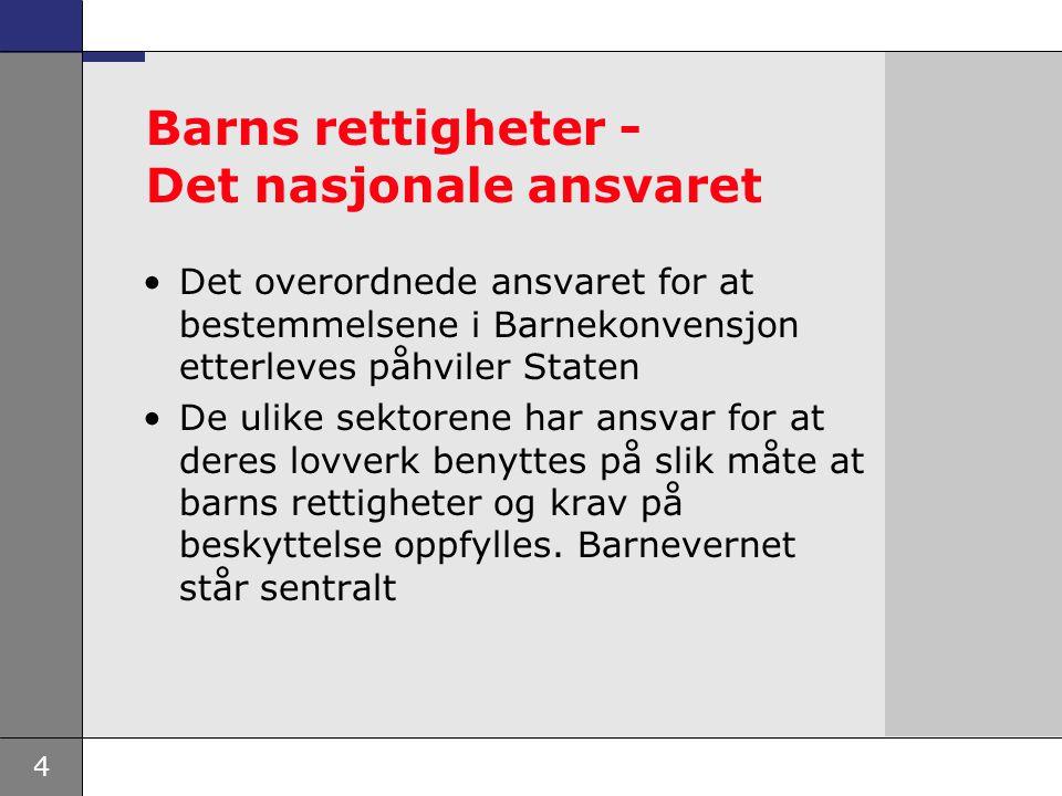 5 Den europeiske Menneskerettskonvensjon Art 8.Retten til respekt for privatliv og familieliv 1.