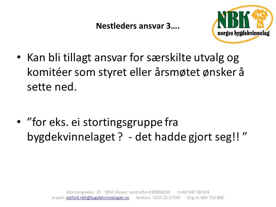 Nestleders ansvar 3….