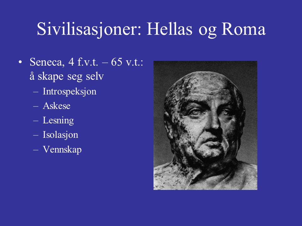 Sivilisasjoner: Hellas og Roma Seneca, 4 f.v.t.