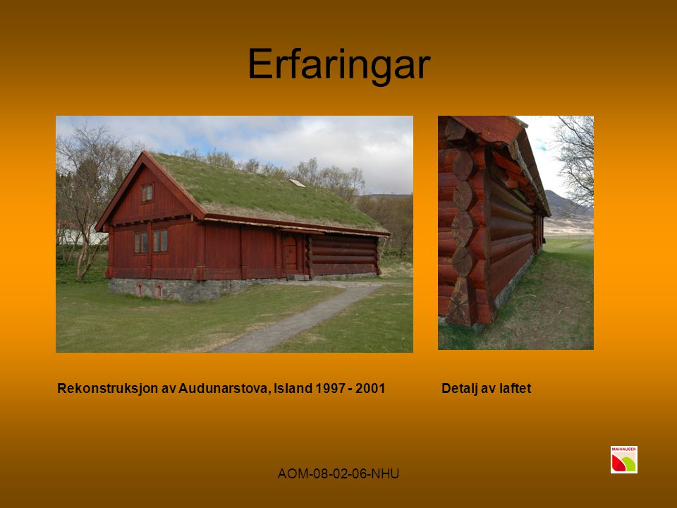 AOM-08-02-06-NHU Har vi noko å tilby? Nybygt hus på museum like utanfor Budapest 2005Leirpuss