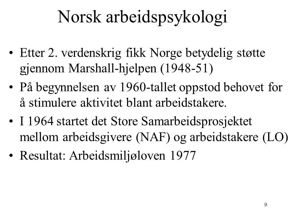 10 Arbeidsmiljøloven Her er referansen på lovdata.no http://www.lovdata.no/all/nl-20050617- 062.html