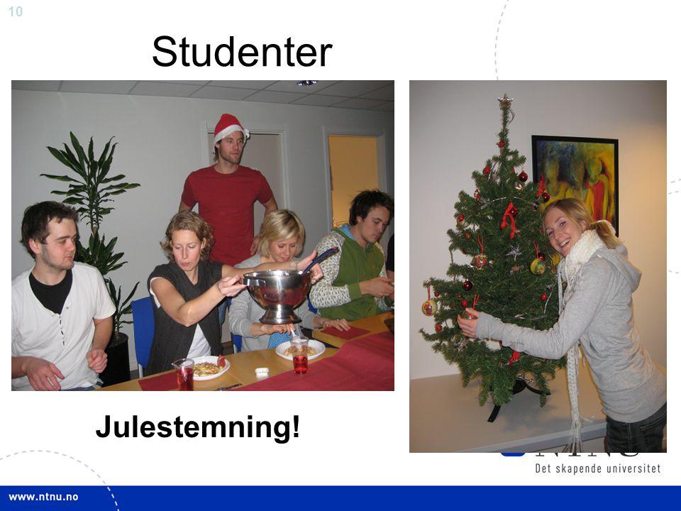 10 Studenter Julestemning!