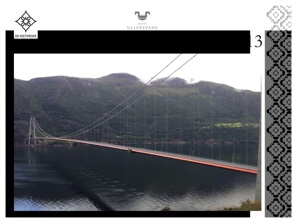 HARDANGER BRIDGE 2013