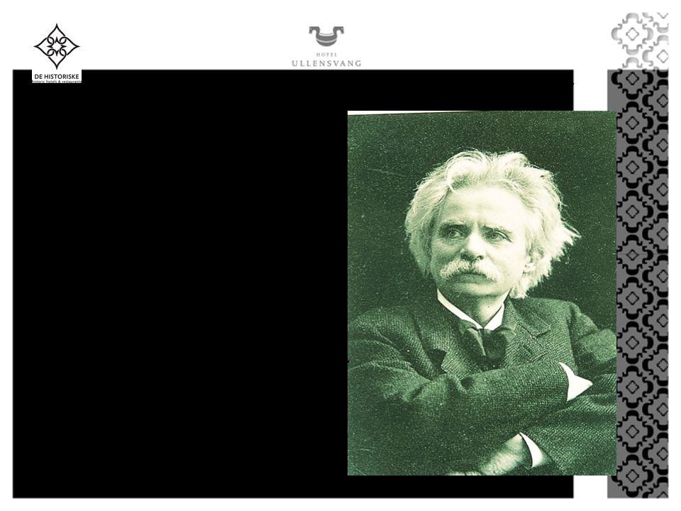 EDVARD GRIEG 1843 - 1907 Strykekvartett i G-moll, opus 27 Den Bergtekne Album for Mandssang, opus 30