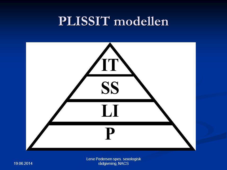19.06.2014 Lene Pedersen spes. sexologisk rådgivning, NACS PLISSIT modellen