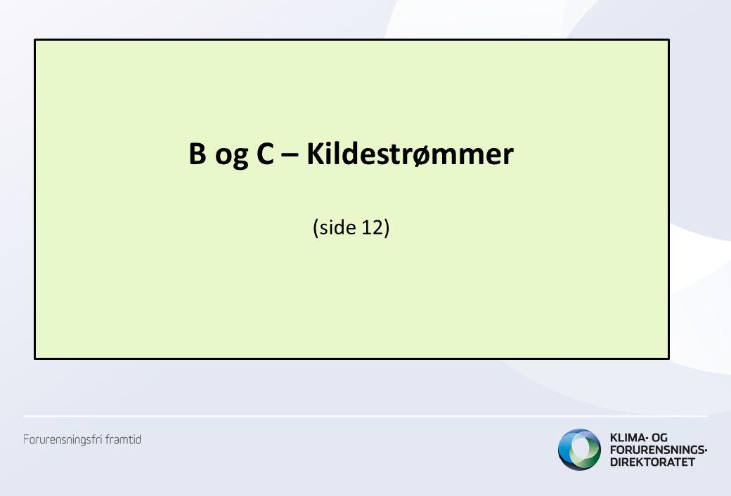 B og C – Kildestrømmer (side 12)