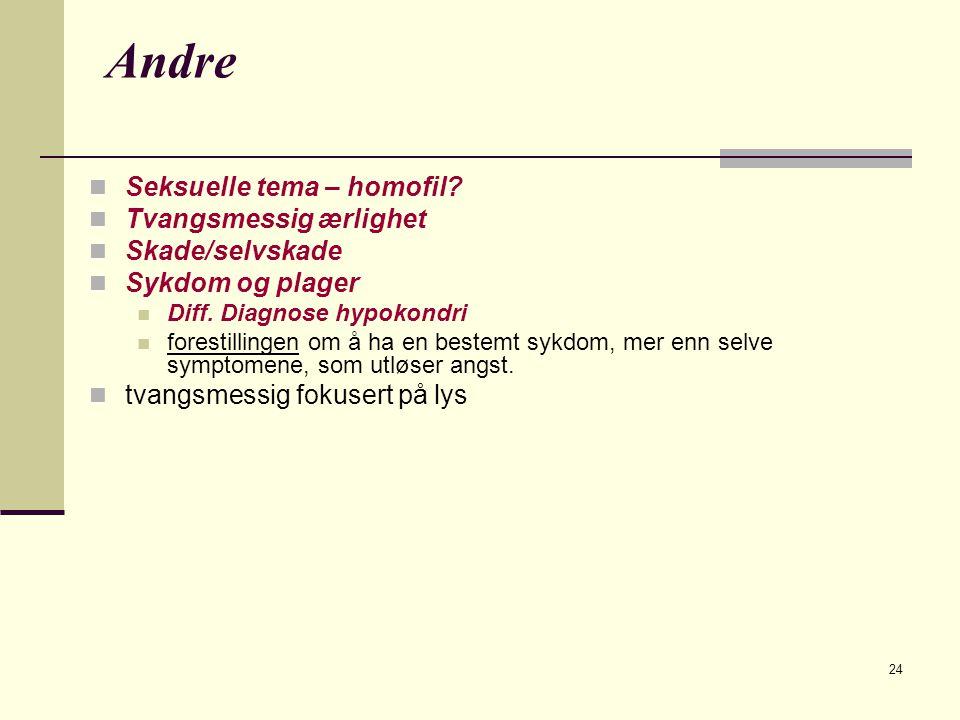24 Andre  Seksuelle tema – homofil.