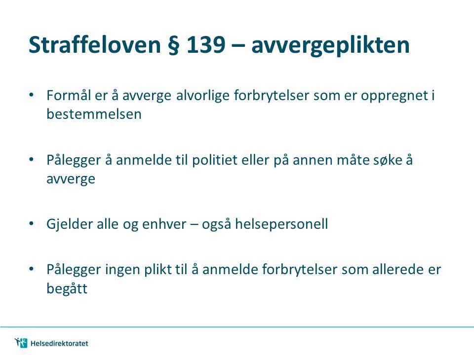 Straffeloven 139