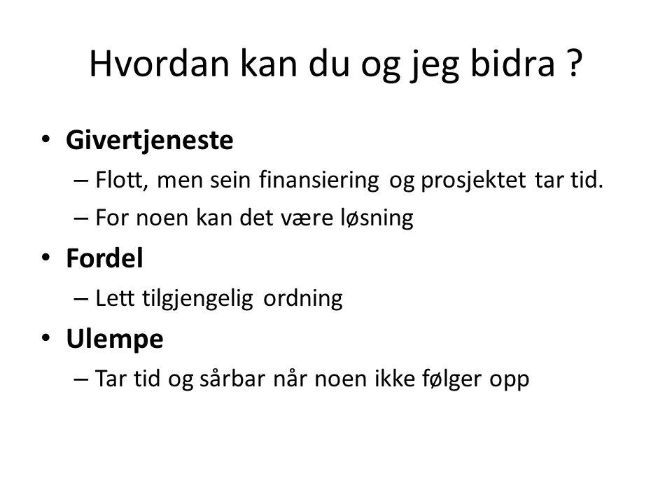 KAPITAL-LÅN / GAVE • Enkleste: En raus gave (gave med 4 el 5 0-tall) • De mer realistiske; kombinasjon av lån/gave med skattefrihet.