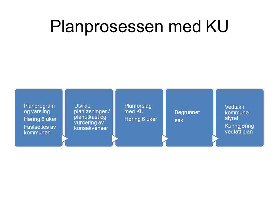 Planprosessen med KU