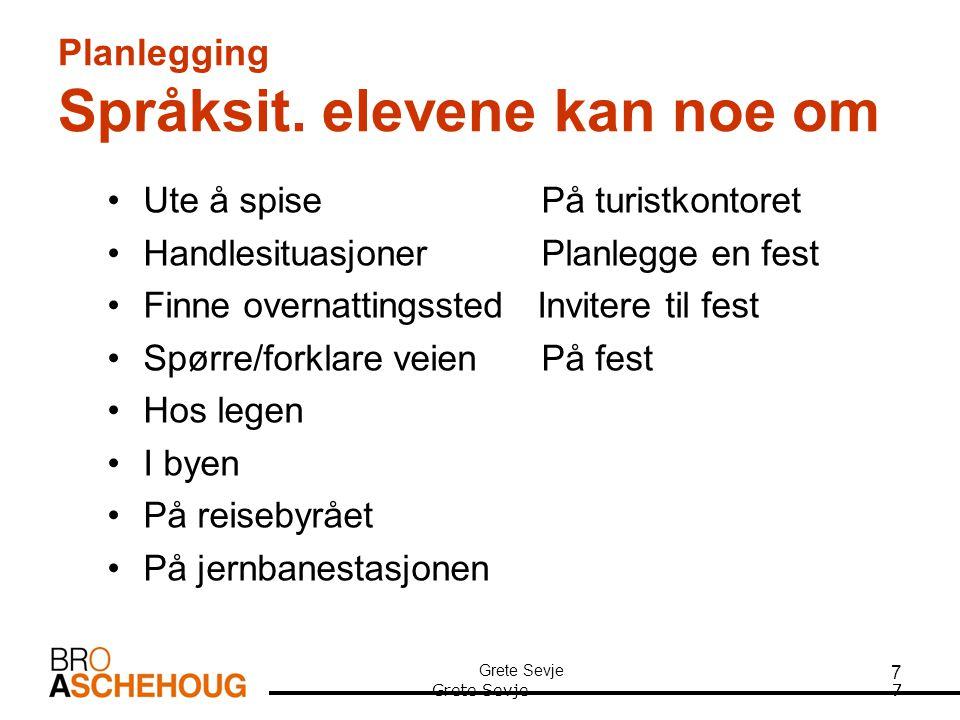 8 Planlegging - generelt •Tenke gjennom organisering /gjennomføring/vurdering av eksamen.