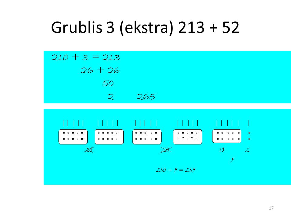 Grublis 3 (ekstra) 213 + 52 17