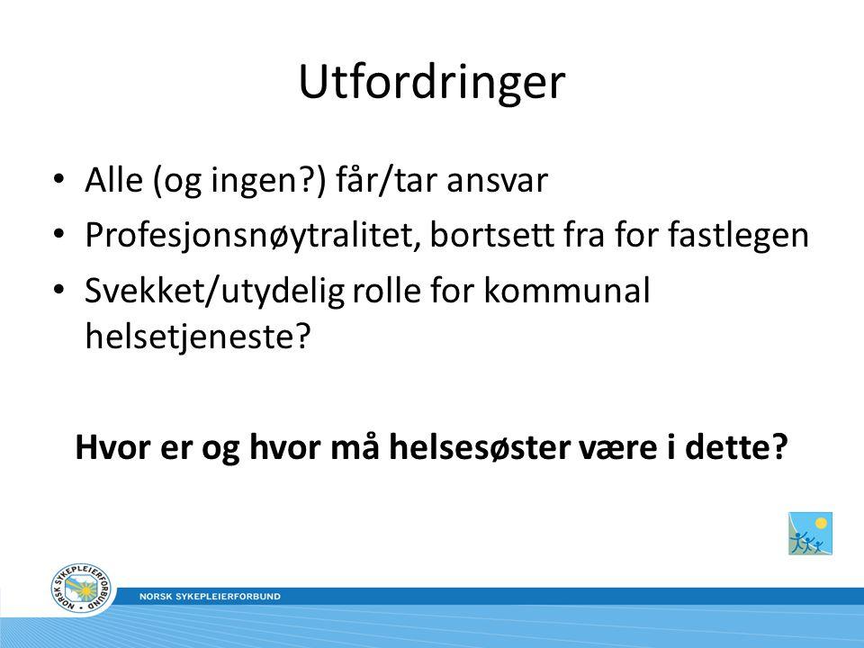 Helsesøsterkongressen 2011 • Trondheim 12.-14.april • NB.