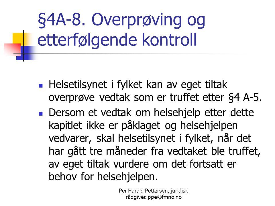 Per Harald Pettersen, juridisk rådgiver.