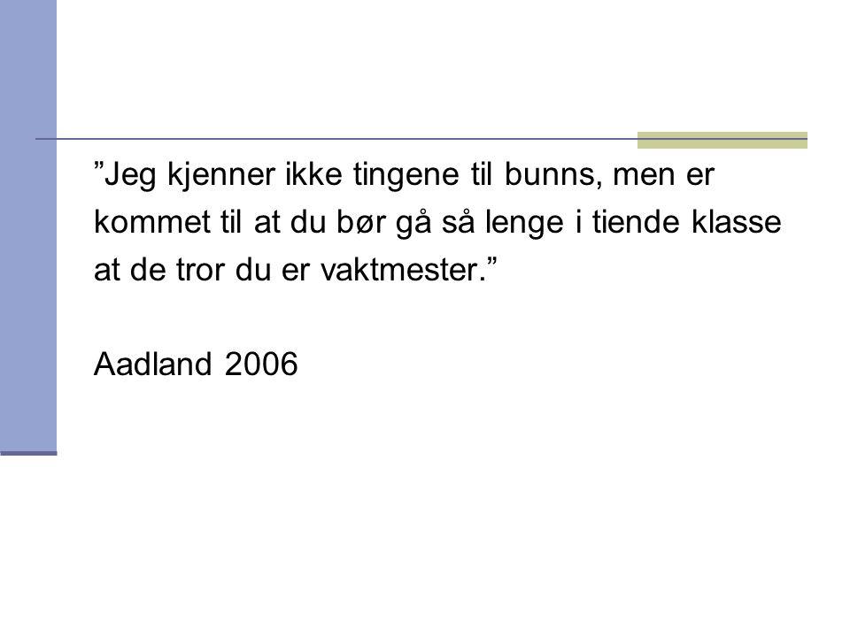 Sakprosa på ungdomstrinnet  Leses det sakprosa i norskfaget på ungdomstrinnet.