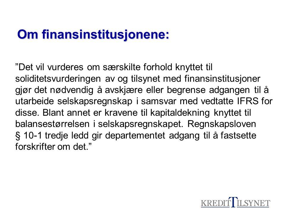 Forholdet mellom IAS og regnskapsloven •Den norske regnskapsloven og IASene bygger på to forskjellige regnskapsmodeller –RL basert på en transaksjonsbasert historisk kostmodell hvor resultatmåling gjennom sammenstilling av inntekter og kostnader er det primære –IASene bygger på formuesbaserte modeller, hvor verdimåling av balanseposter er er det primære –Kriterier for resultatføring og måling i de to modellene er forskjellige