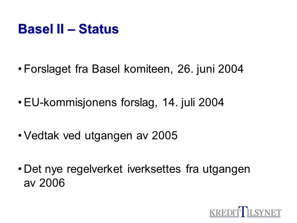 Fremdriftsplan (foreløpig) –Ikrafttreden utgangen av 2006.