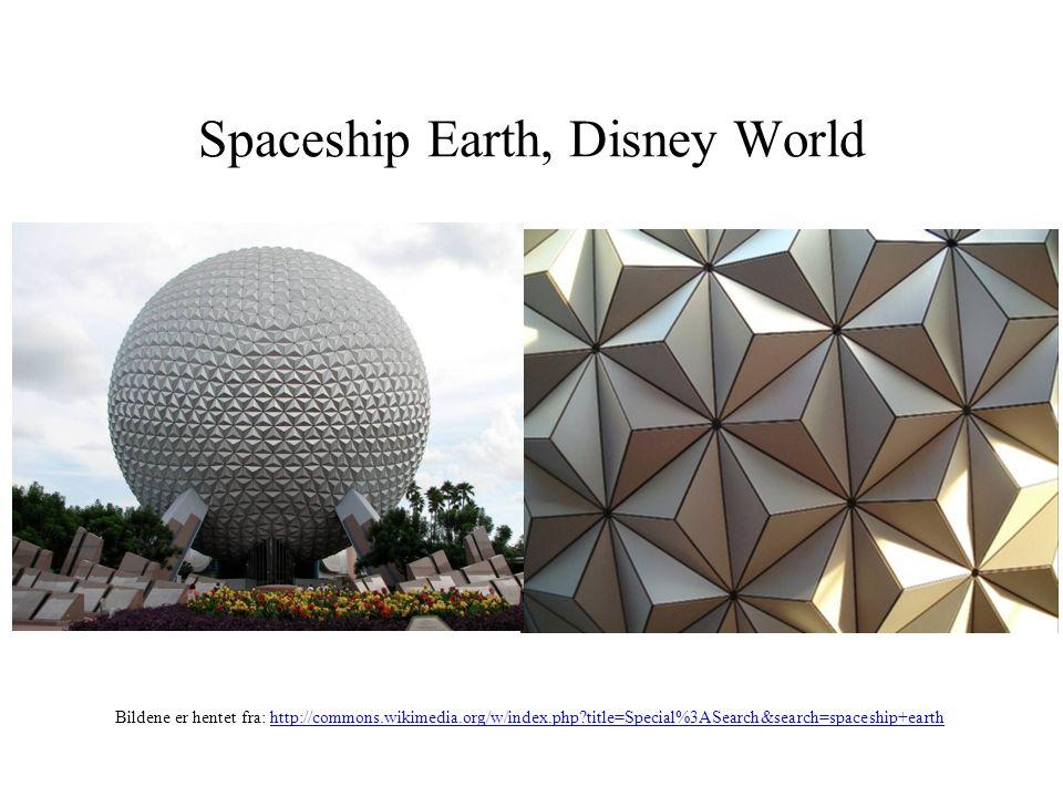 Spaceship Earth, Disney World Bildene er hentet fra: http://commons.wikimedia.org/w/index.php?title=Special%3ASearch&search=spaceship+earthhttp://comm