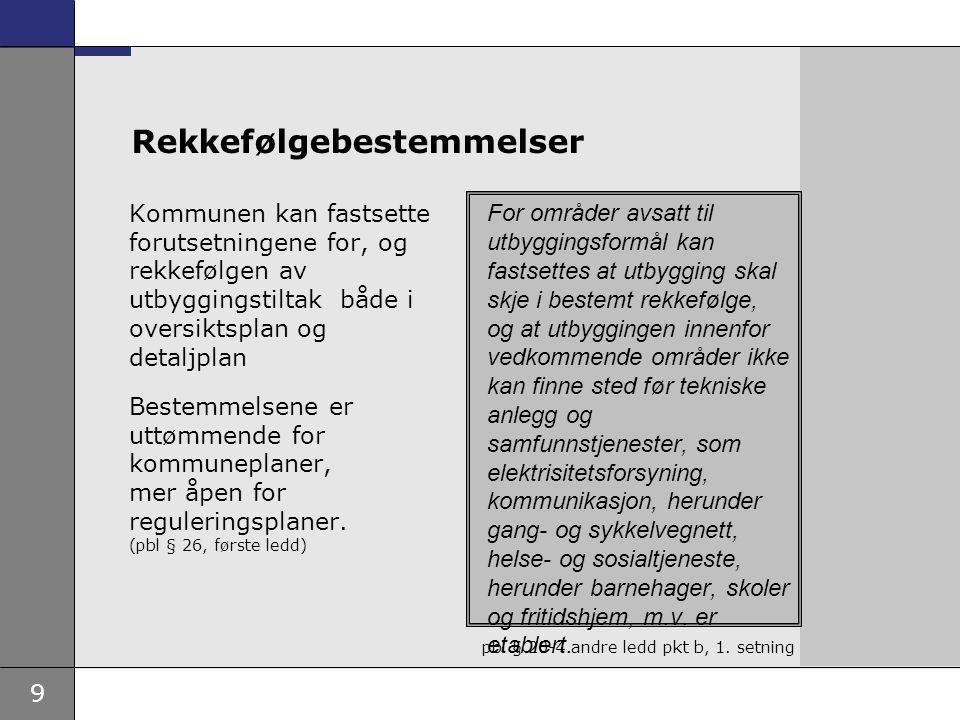 10 Rammer – avtale i forbindelse med søknad om byggetillatelse •Ja-lov / rettsanvendelsesskjønn.
