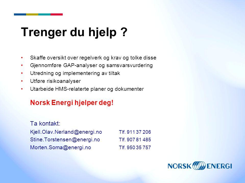 Medlemstjeneste for Norsk Fjernvarme Norsk Energi vil utarbeide medlemsside med •Oversikt over regelverk som gjelder for fjernvarmevirksomhet •Linker til nettsteder med fulltekstutgave og evt.