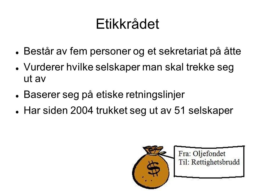 Eksempler Norge lånte penger til USA som blant annet gikk til å finansiere krigen i Irak