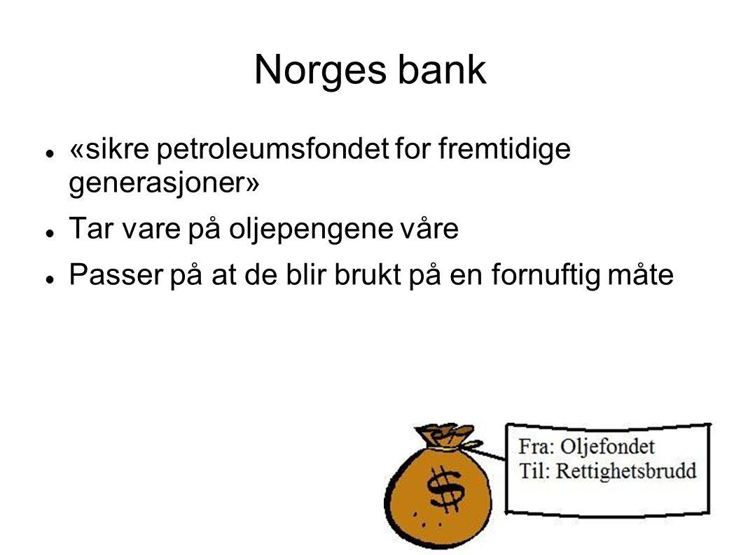 Norge låner penger til Israel, penger som kan brukes til angrepene på Gaza eller til å opprettholde okkupasjonen