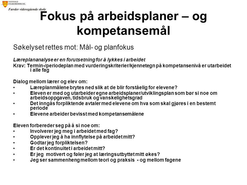 Den 3.elevsamtalen Fokus: Læringsutbytte og veien videre.