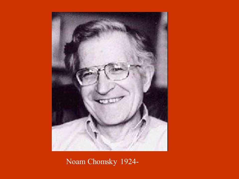 Noam Chomsky 1924-
