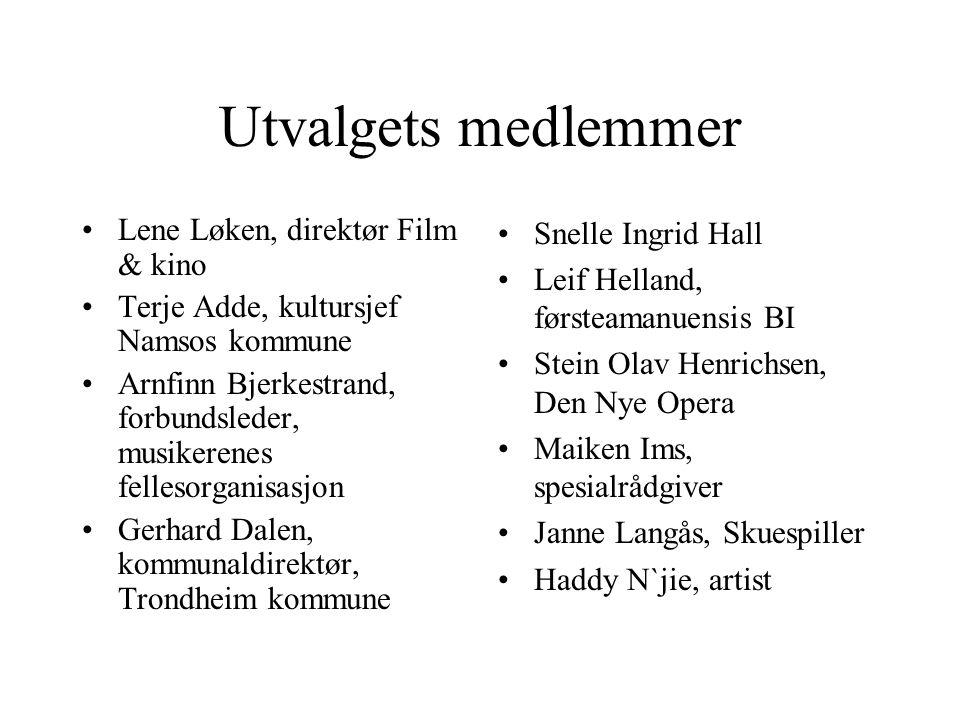 Åpenhet og deltakelse •Den norske kulturpolitikken har vært preget av kultur for alle ( det utvidede kulturbegrep) •Deltakelse og demokrati har vært bærende prinsipper