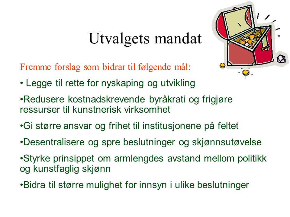 Sentral / desentral fordeling.•Sprenge Oslo-grytas innflytelse over de nasjonale midlene.