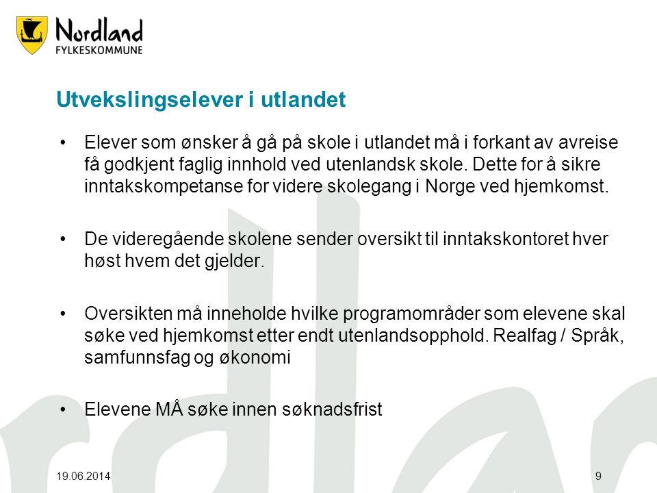 19.06.201420 Grunnskole data Som en følge av Datatilsynets krav om økt sikkerhet rundt innhenting av grunnskoledata kom det på plass nye rutiner for overføring av data til inntakskontoret våren 2011.