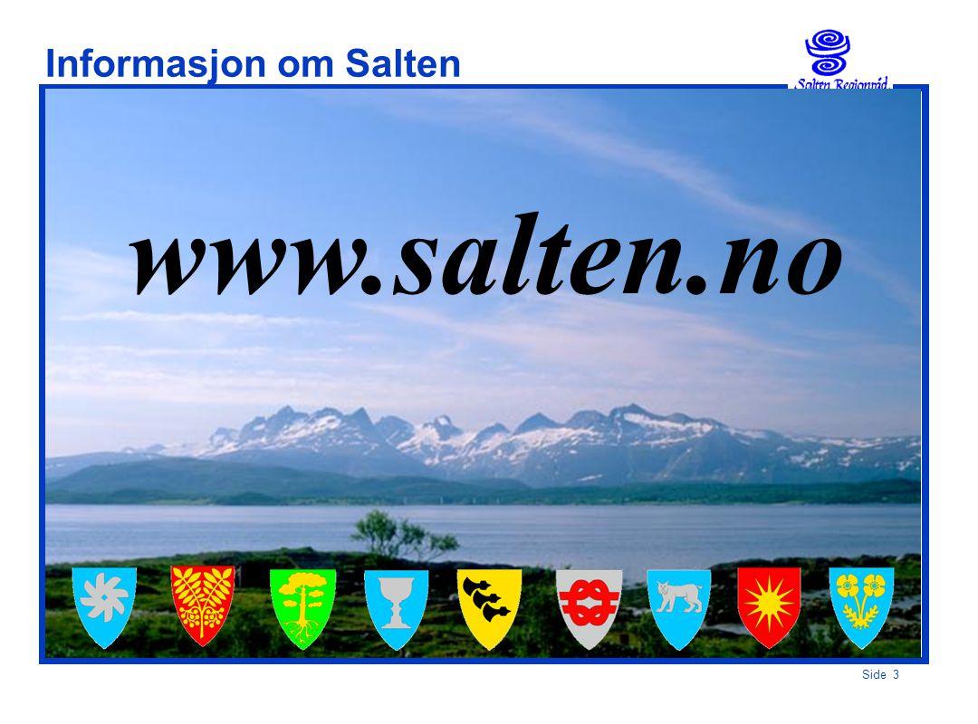 Side 3 Informasjon om Salten www.salten.no