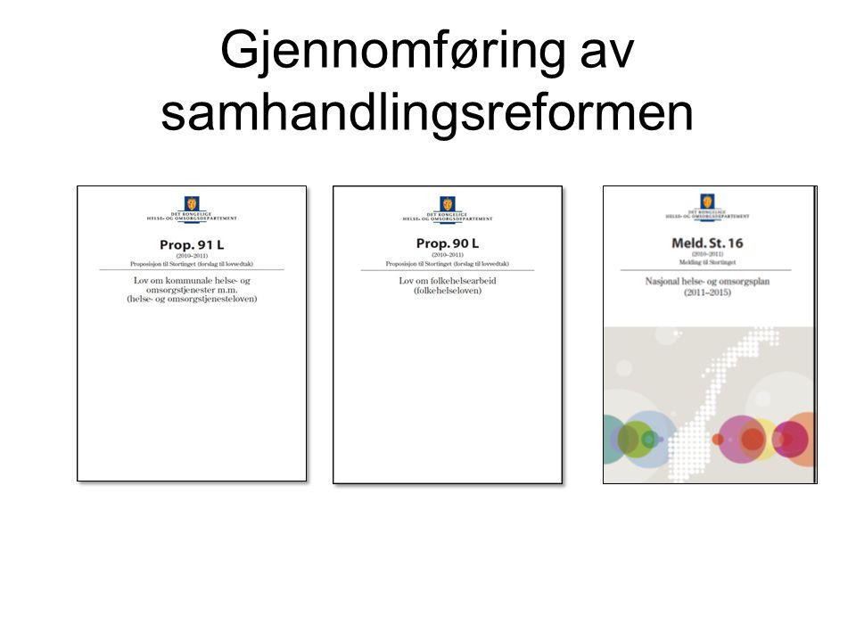 Gjennomføring av samhandlingsreformen