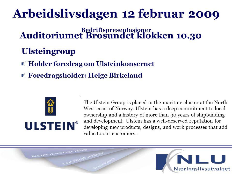 ABB Holder foredrag om ABB Marine Foredragsholder: Mikael Schakenda Auditoriumet Åse klokken 14.00 ABB leverer produkter og løsninger for kraftproduksjon, overføring, fordeling og automatisering.
