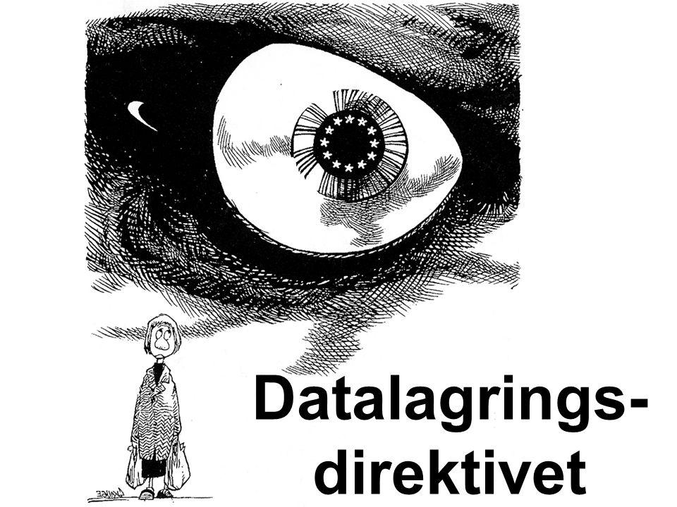 Datalagrings- direktivet