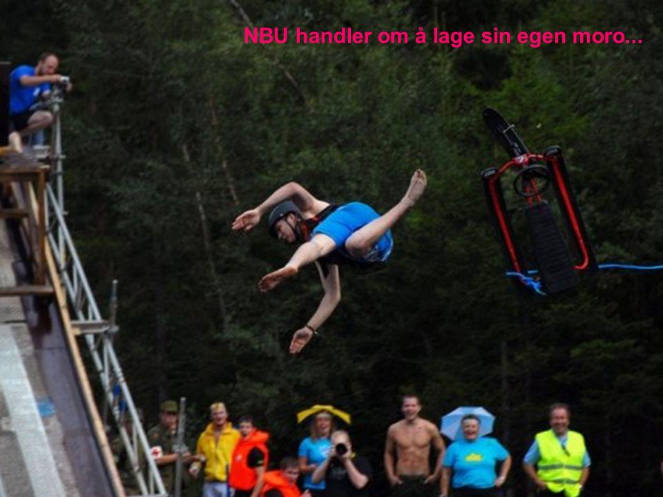 NBU handler om å lage sin egen moro...
