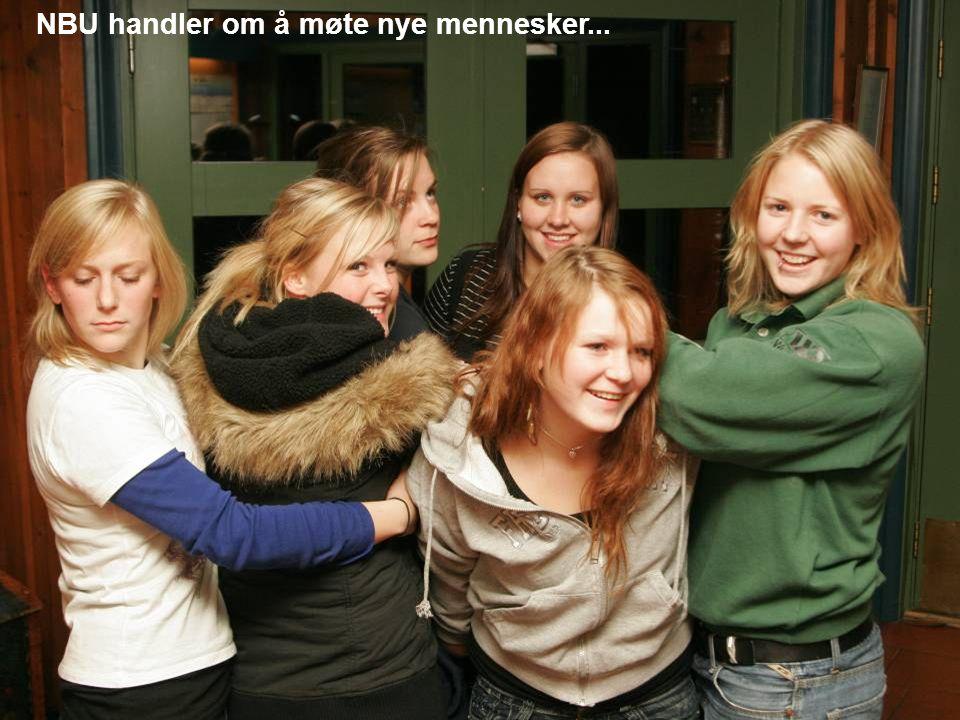 NBU handler om å møte nye mennesker...