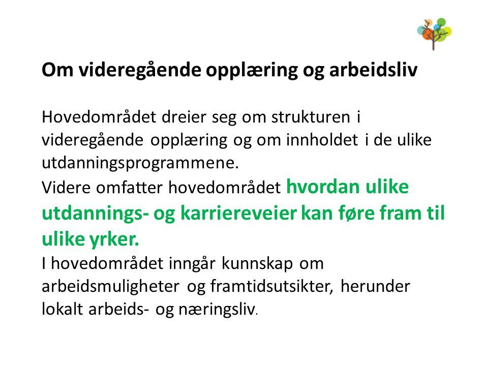 Kurs i utdanningsprogram vår 2014 Tilbudet til 9.